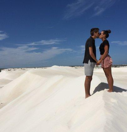 De Lancelin à Geraldton dans la région Western Australia en Australie