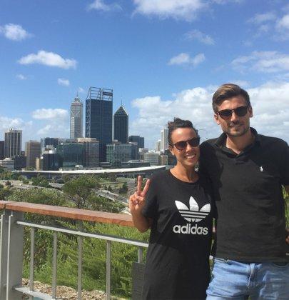 Perth et ses environs dans la région Western Australia en Australie
