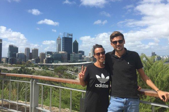Perth et Freemantle dans le Western Australia