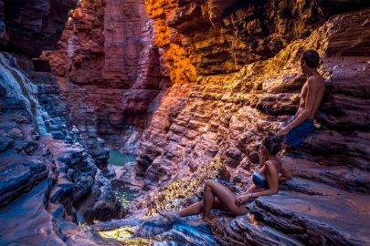 Karijini National Parkdans le Western Australia en Australie