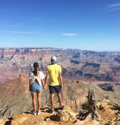 Le Grand Canyon, une époustouflante journée dans l'Arizona aux États-Unis (USA)