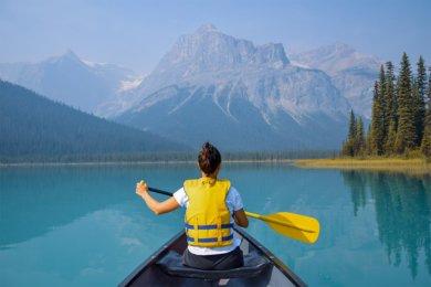 Le parc national de Yoho au Canada