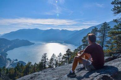 Whistler et Squamish en British Columbia au Canada