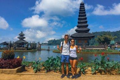 De Pemuteran à Jatiluwih à Bali en Indonésie