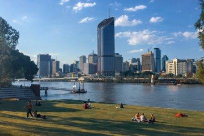 La ville de Brisbane dans la région Queensland