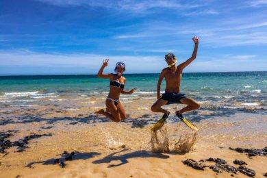 Ningaloo Reef et sa barrière de corail en Australie