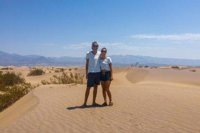 Death Valley, la vallée de la mort dans l'ouest américain