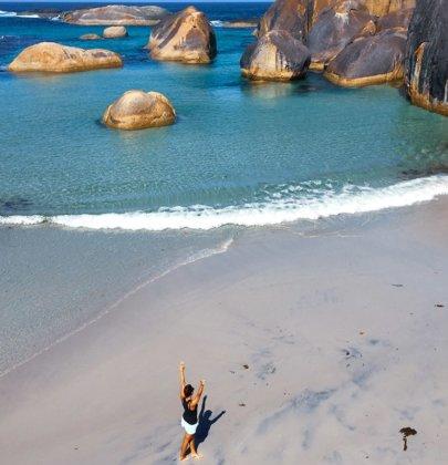 Le sud de la région Western Australia en Australie