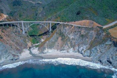 Highway 1 entre Los Angeles et San Francisco