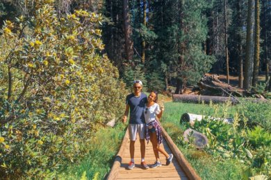 Le parc national Sequoia en Californie