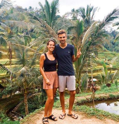 Ubud et ses environssur l'île de Bali en Indonésie