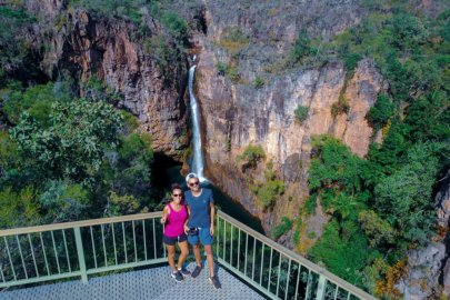 Litchfield National Park dans la région du Northern Territory en Australie