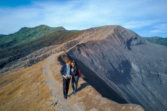 Le volcan Bromosur l'île de Java en Indonésie