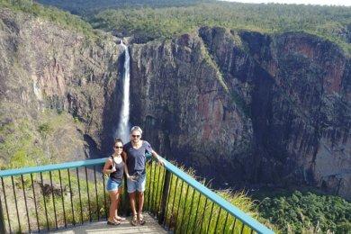 La route des cascades dans le Queensland