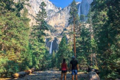 Yosemite National Park en Californie aux Etats-Unis (USA)