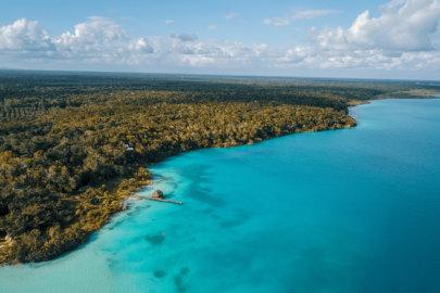 Bacalar : le paradis aux 7 nuances de bleu sur la péninsule au Mexique