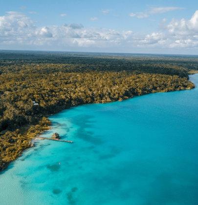Bacalar, le paradis aux 7 nuances de bleu