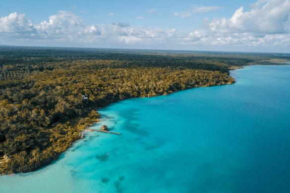 Bacalar : le paradis aux 7 nuances de bleu au Mexique
