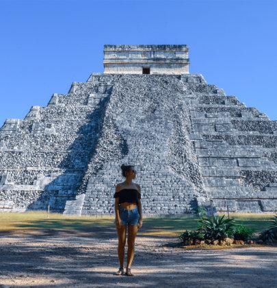 Chichen Itza sur la péninsule du Yucatan au Mexique