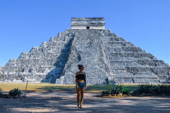 Visiter Chichen Itza dans le Yucatan au Mexique