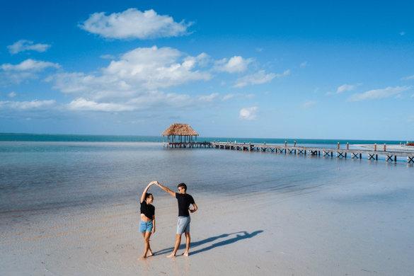2 jours pour visiter l'île Holbox dans le Yucatan au Mexique