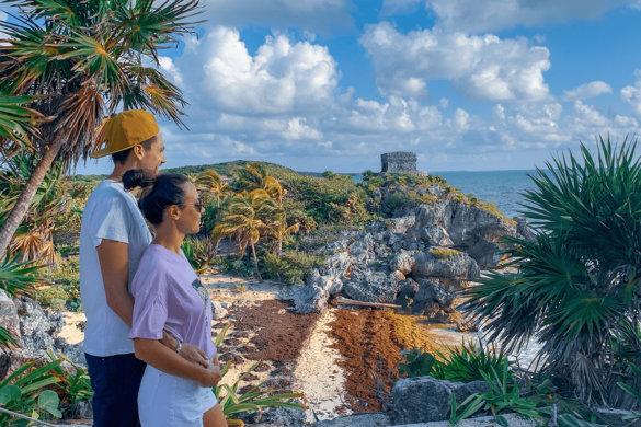 Visiter Tulum dans le Yucatan au Mexique
