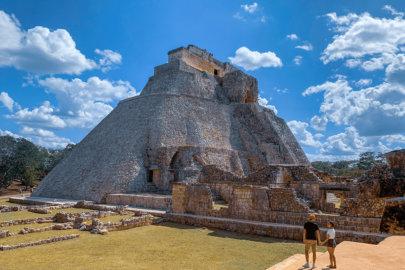 Uxmal, la belle découverte Maya dans le Yucatan au Mexique