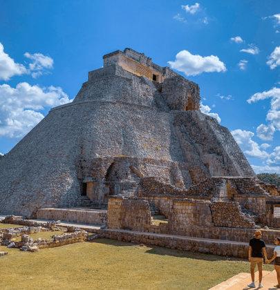 Uxmal, la belle découverte Maya dans le Yucatan !
