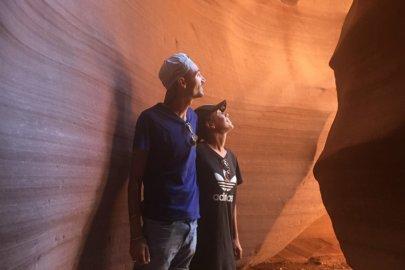 Visite de Antelope Canyon en Arizona aux Etats-Unis (USA)