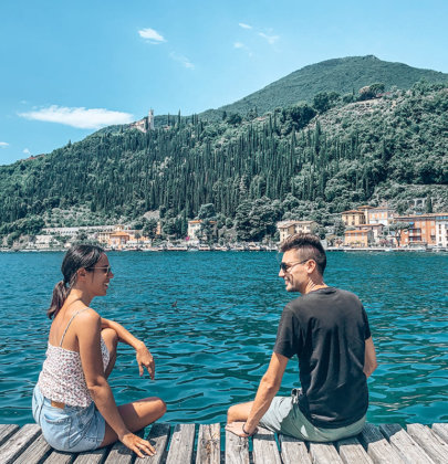 1 jour au lac de Garde en Italie