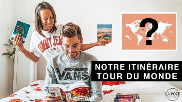 Notre itinéraire Tour du monde