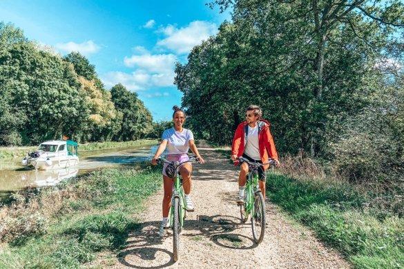 Le Canal de Nantes à Brest en vélo sur la Vélodyssée